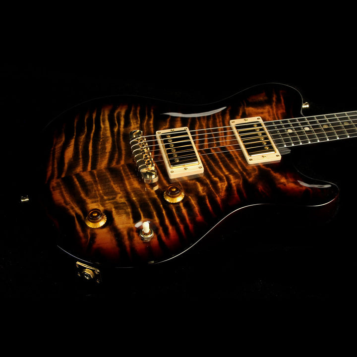 Nik Huber Redwood Dolphin Tiger Eye Sunburst 7 552