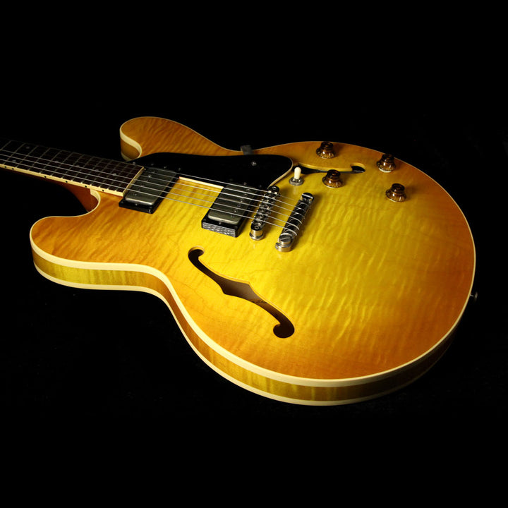 Used 1999 Heritage H535 Electric Guitar Amber Burst T26703