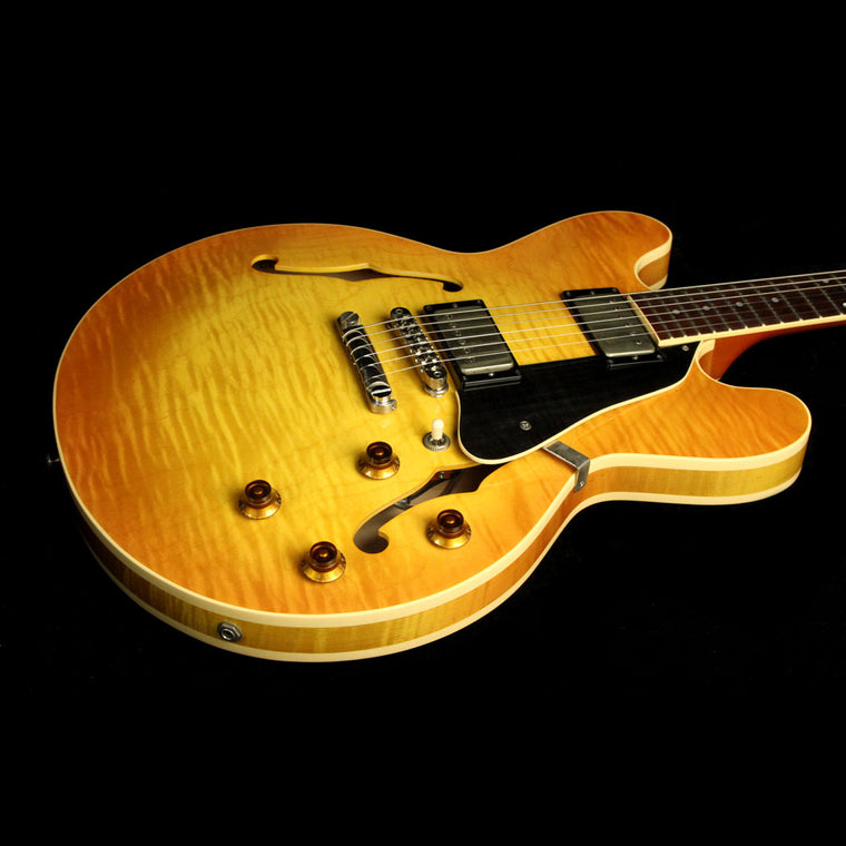Used 1999 Heritage H535 Electric Guitar Amber Burst