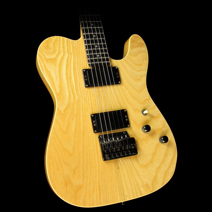 Used 1989 Schecter PT Electric Guitar Natural A7789