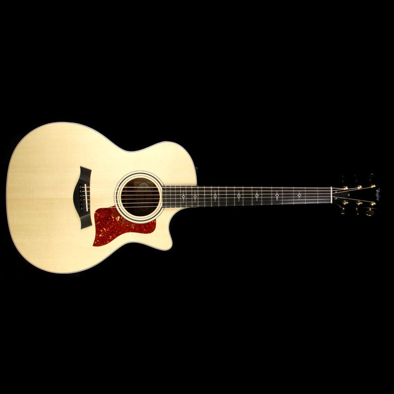 Taylor 314ce Spring 2017 LTD Lutz Spruce and Blackwood Acoustic Guitar Natural 1104207045