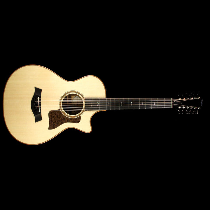 Taylor Spring 2017 LTD 752ce 12-String 12-Fret Grand Concert Acoustic Guitar Natural 1104117011