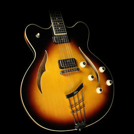 Used Hofner Verythin Electric Guitar Semi-Hollowbody Electric Guitar Sunburst