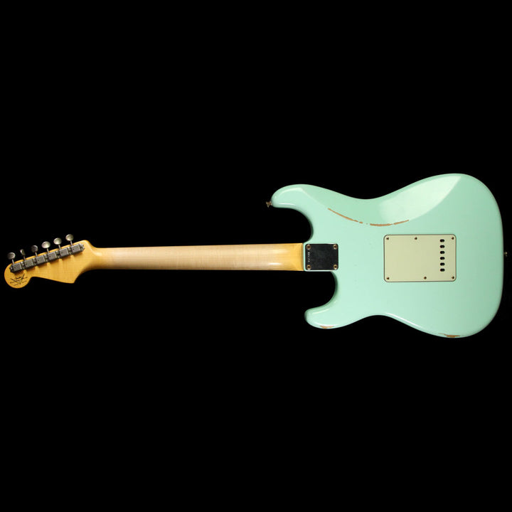 Fender Custom Shop Wildwood 10 '61 Relic Stratocaster Electric Guitar Surf Green R65181