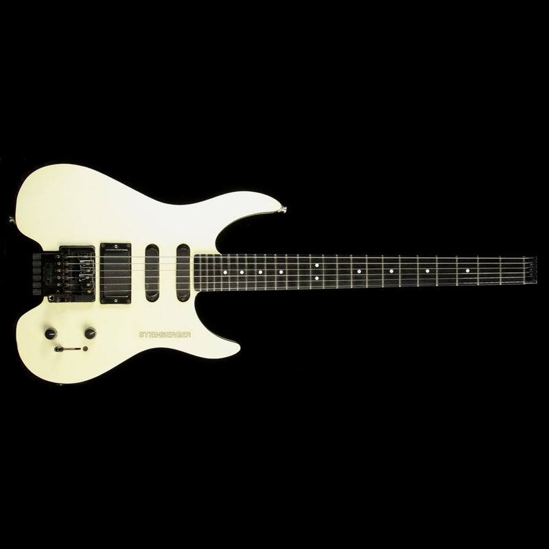 Steinberger GM TransTrem Electric Guitar White N9218