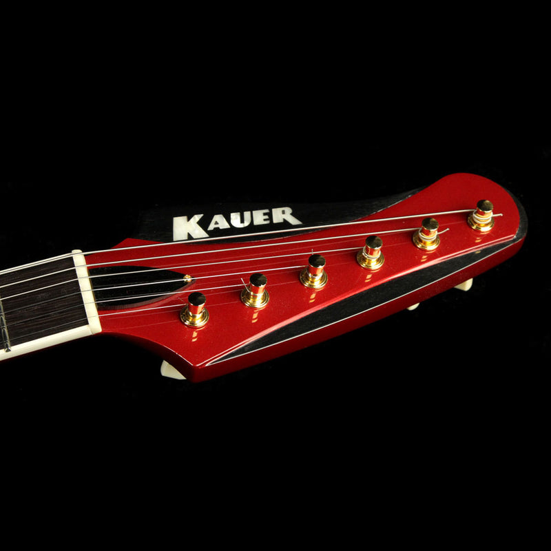 Used Kauer Banshee Electric Guitar Candy Apple Red 262