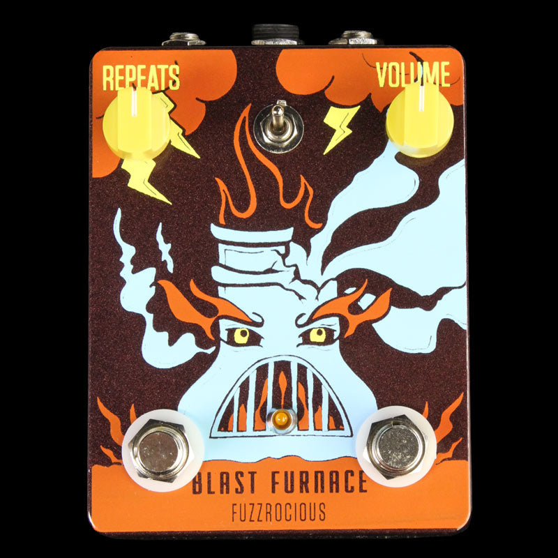 Fuzzrocious Blast Furnace Fuzz Delay Effects Pedal