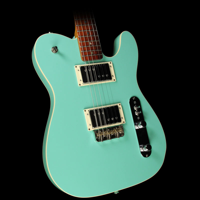Used Lay's Custom Shop	Custom T Electric Guitar Seafoam Green N/A