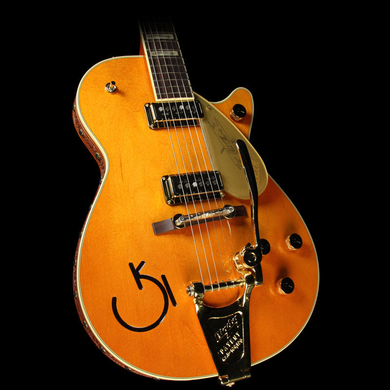 Gretsch G6121-1955 Chet Atkins Electric Guitar Tangerine with Leather Trim