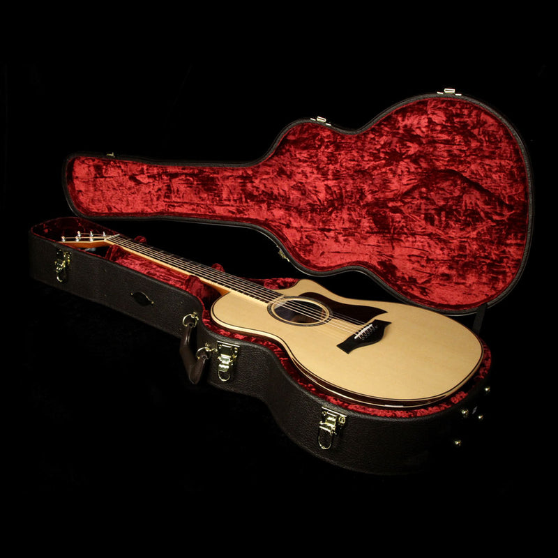 Taylor 814ce DLX Grand Auditorium Acoustic-Electric Guitar Natural 1104147038