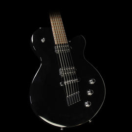 Used Yamaha AES820D6 Drop 6 Baritone Electric Guitar Black