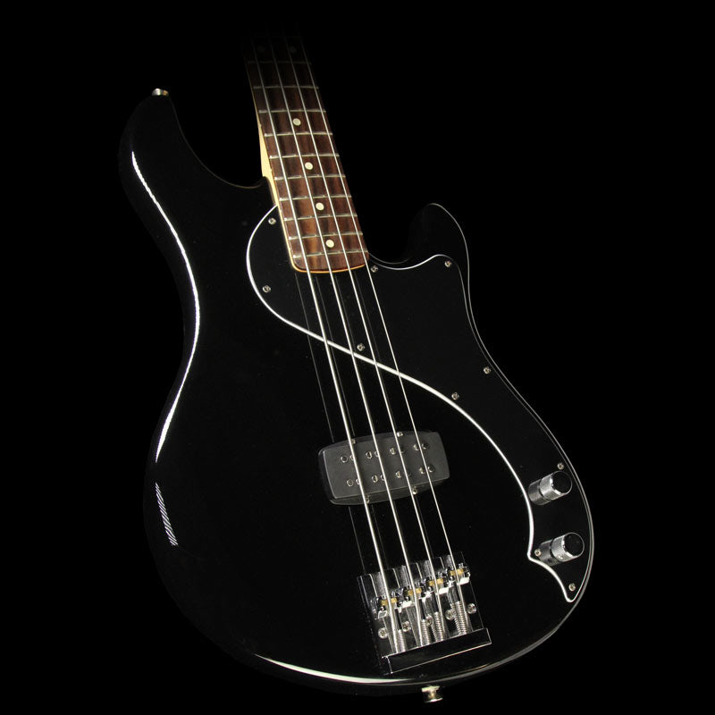 Used Fender Dimension IV Bass Electric Bass Guitar Black