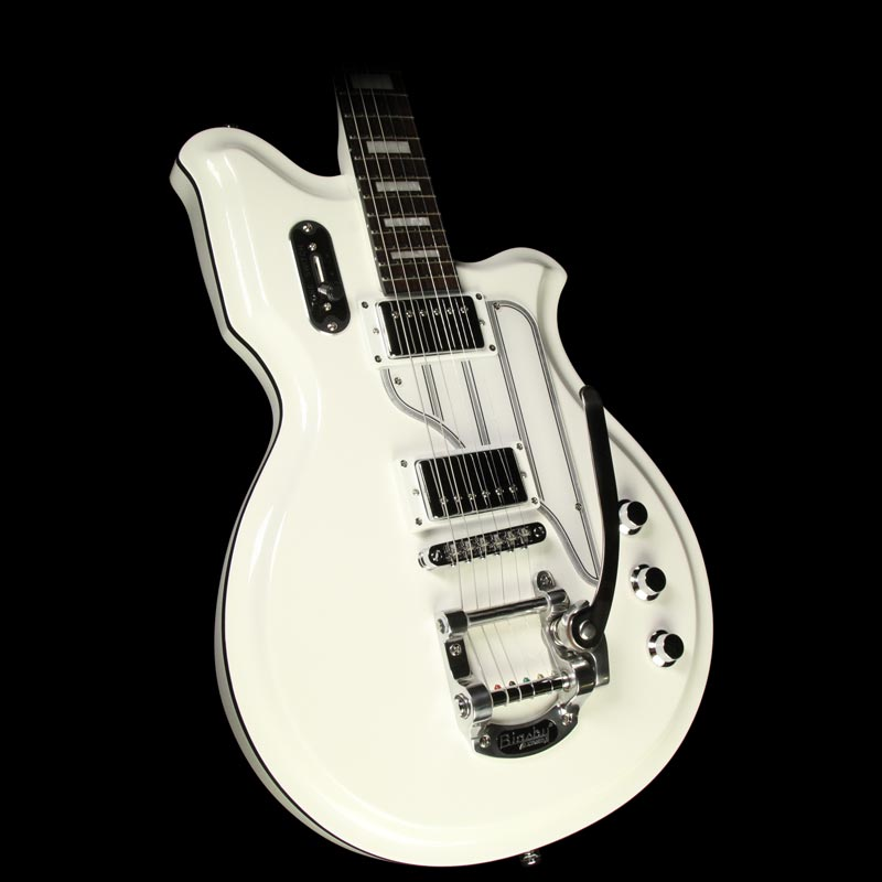Used Eastwood Airline Map DLX Electric Guitar White Airline Map DLX