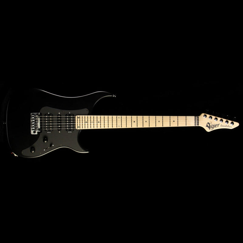 Vigier Excalibur Supra HSH Electric Guitar Matte Black 170012