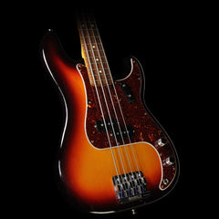 Used 2012 Fender American Vintage Electric '62 Precision Bass Guitar 3-Tone Sunburst