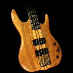 Used 1990 Ken Smith BT4G Electric Bass Guitar Natural