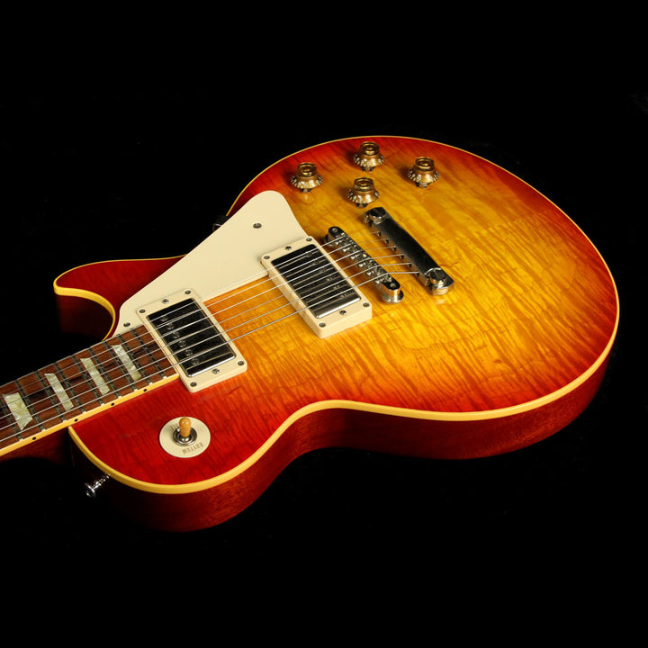 Used 2003 Gibson Custom Shop '59 Les Paul Electric Guitar Cherry Sunburst 931287