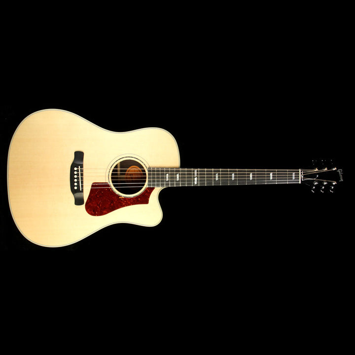 Used Gibson Montana HP 735 R Acoustic Guitar Antique Natural 10677038