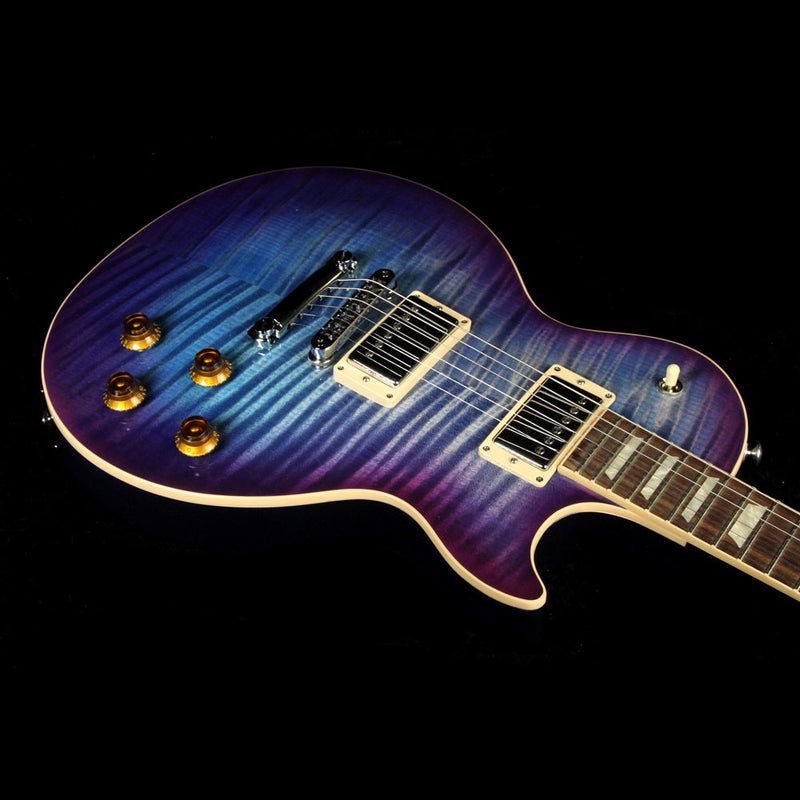 Used 2017 Gibson Les Paul Standard T Electric Guitar Blueberry Burst 170050131