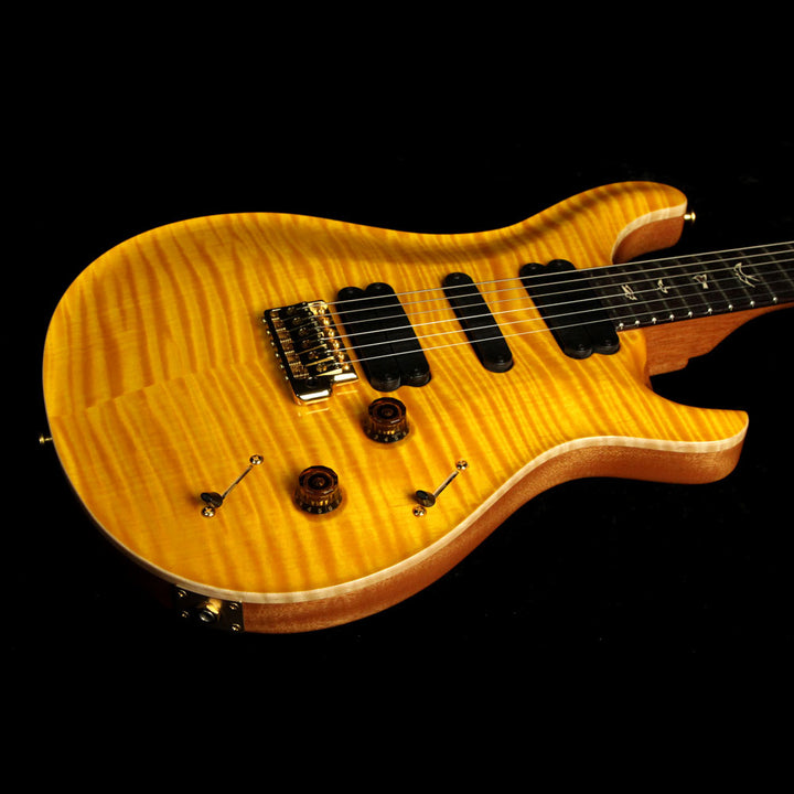 Used 2011 Paul Reed Smith 513 Ten-Top Electric Guitar Vintage Yellow 11 172184