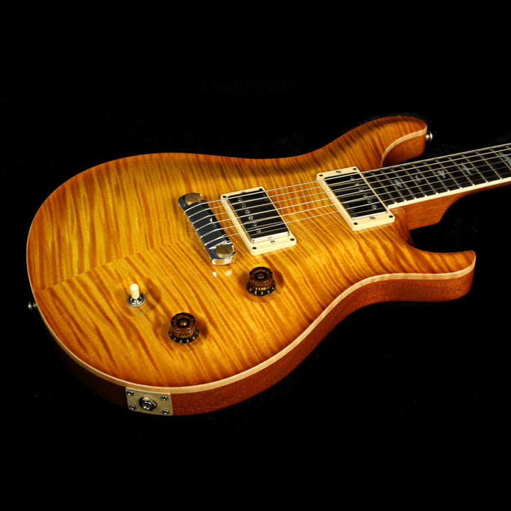 Used 2010 Paul Reed Smith McCarty Double Cut Electric Guitar Vintage Amber Burst 10 167206