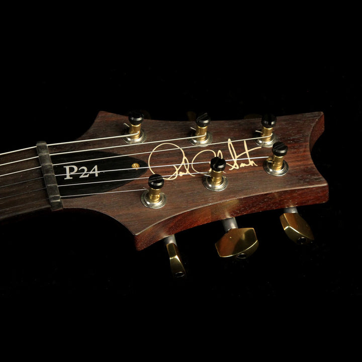 Paul Reed Smith P24 Artist Package Electric Guitar Bonnie Pink and Rosewood Neck 14 210658