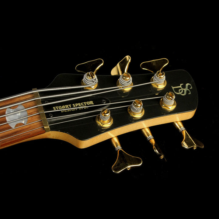 Used 1994 Spector NS-6 Neck-Thru Electric Bass Guitar Natural 15