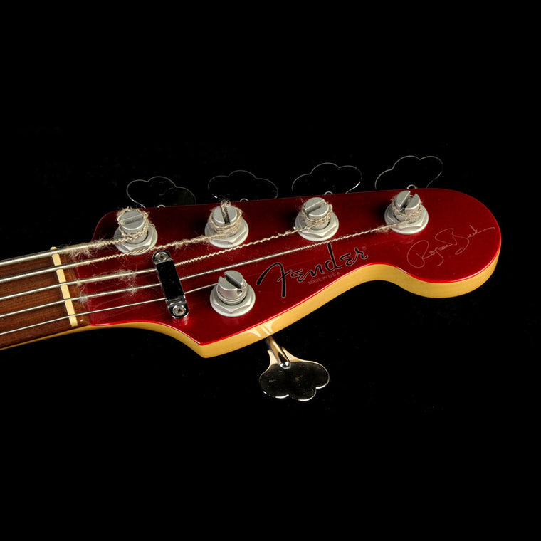 Used Fender USA Roscoe Beck V 5-String Jazz Bass Electric Bass Red