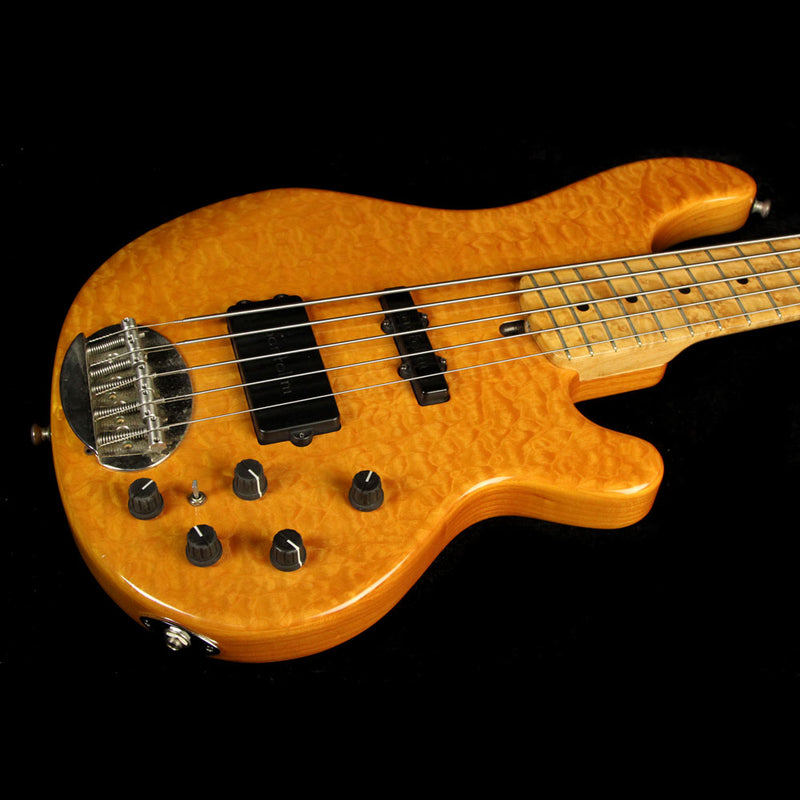 Used Lakland 55-94 5-String Electric Bass Guitar Amber N/A