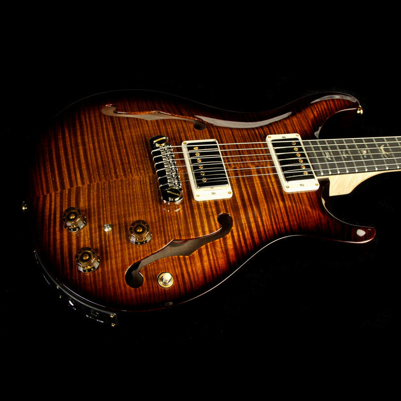 PRS Hollowbody II with Artist Package Black Gold 241192