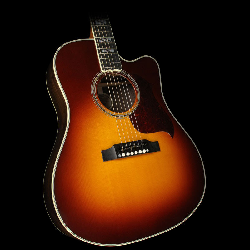 Gibson Montana Songwriter Cutaway Progressive Acoustic/Electric Guitar Autumn Burst