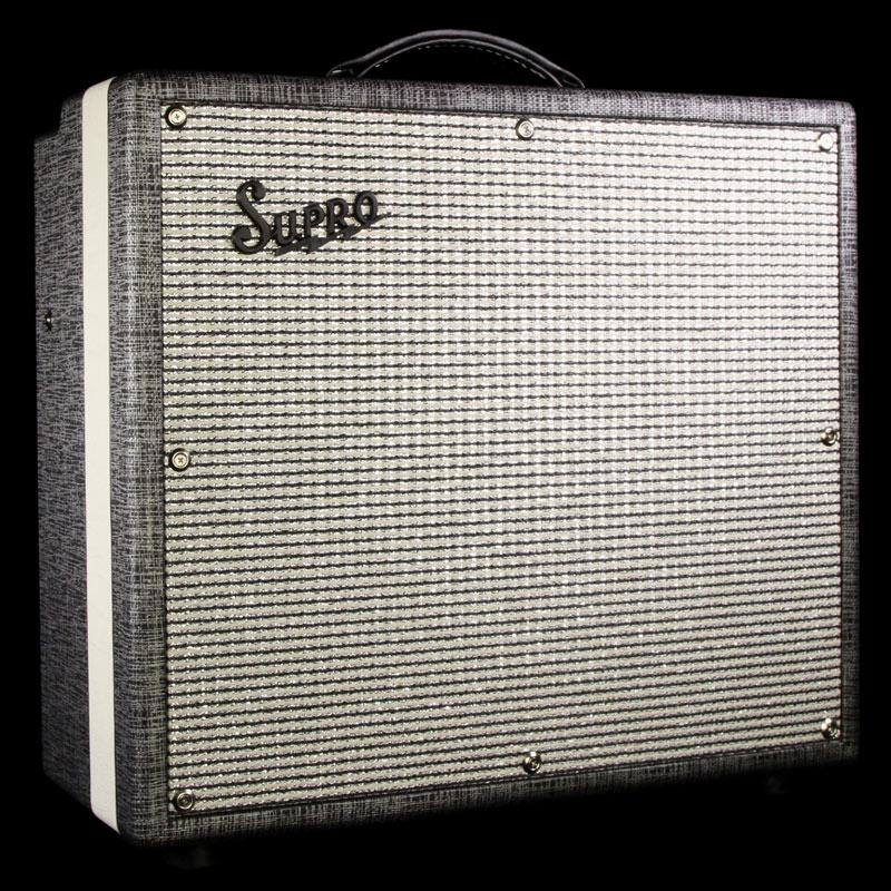 Supro 1695T Black Magick 1x12 Electric Guitar Combo Amplifier 1695T-U