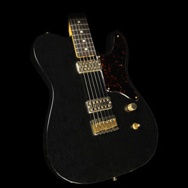 Used Fender Custom Shop Masterbuilt Yuriy Shishkov Featherweight La Cabronita Relic Electric Guitar Black