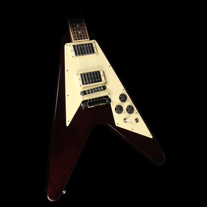 Used 2014 Gibson 120th Anniversary Flying V Electric Guitar Aged Cherry 140089327
