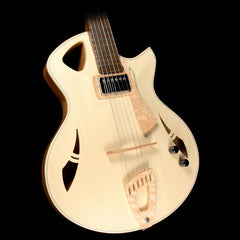 Kuun Spitfire Jazz Archtop Electric Guitar Natural