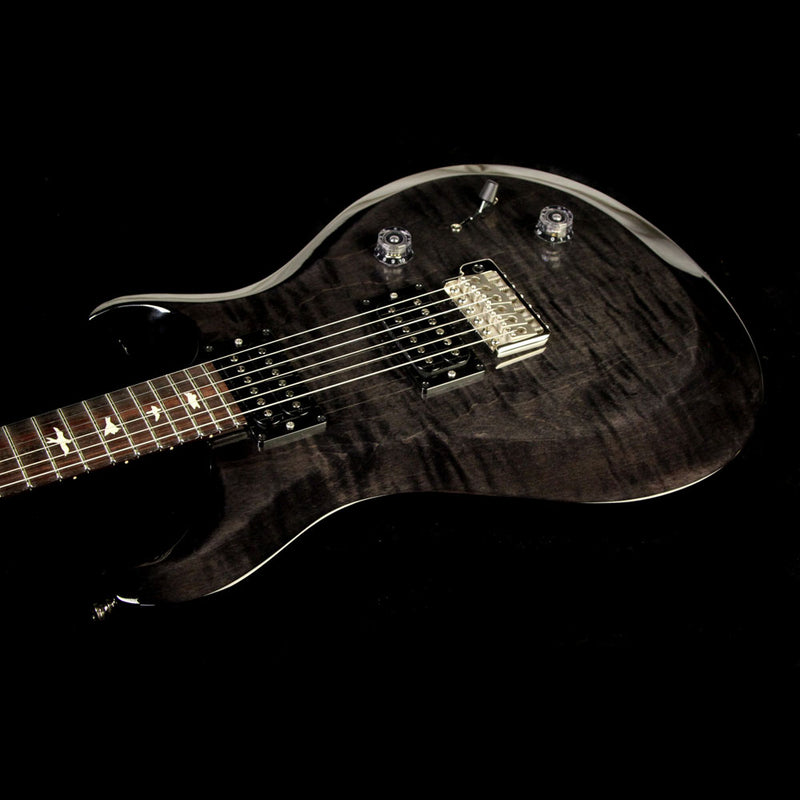 Used 2017 Paul Reed Smith S2 Series Custom 22 Electric Guitar Trans Black S2023980