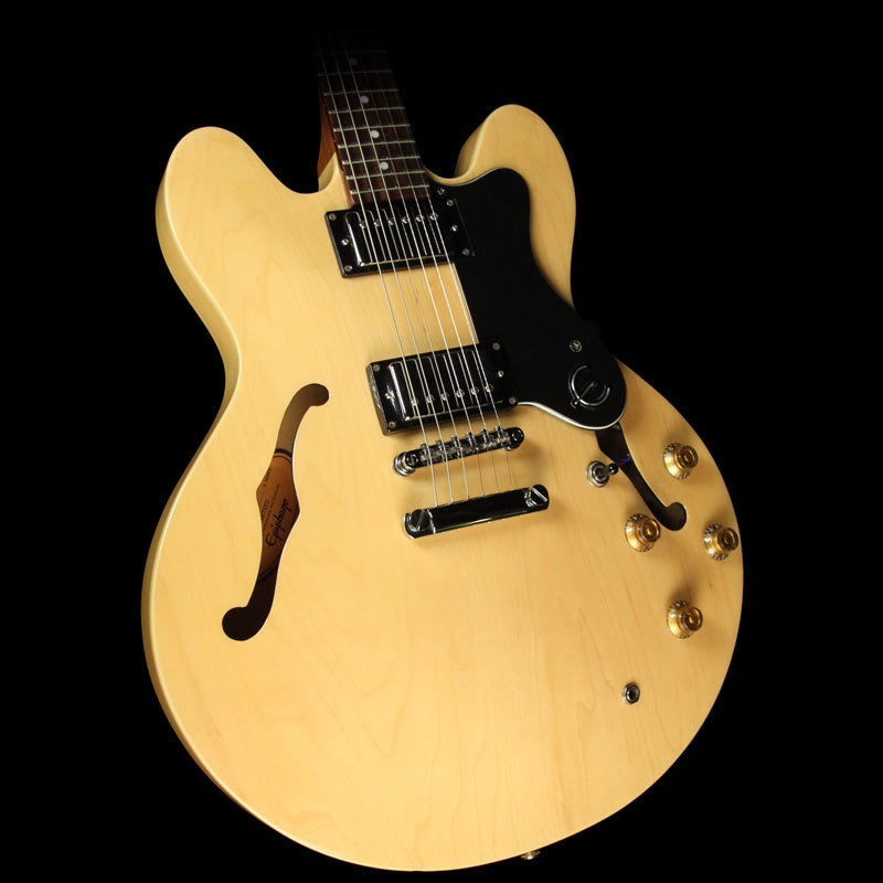 Used Epiphone Dot Electric Guitar Natural