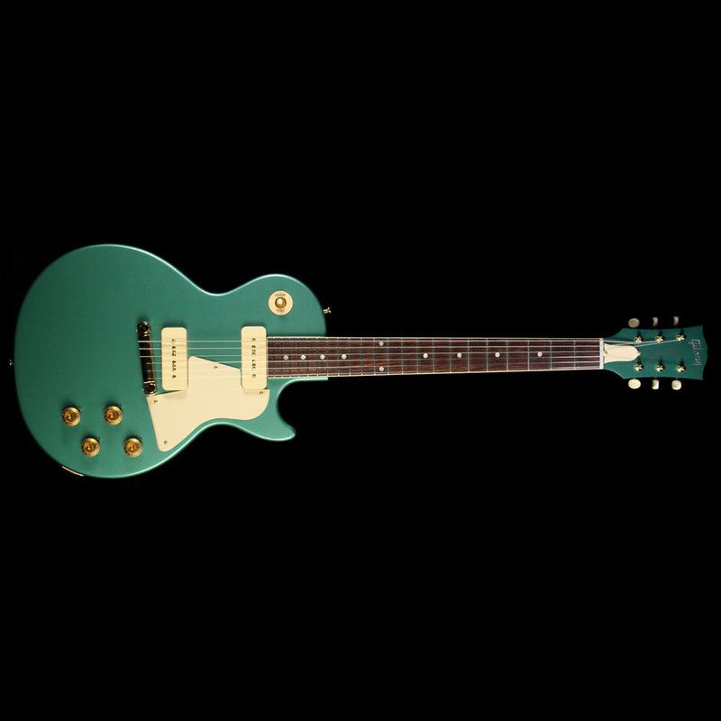 Used Gibson Custom Shop Limited Edition Les Paul Special Singlecut Electric Guitar Inverness Green 7578