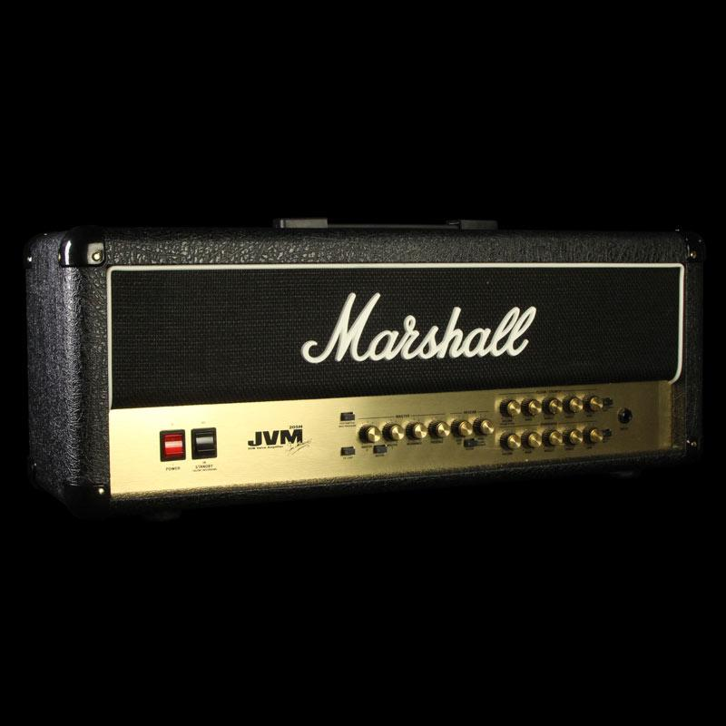 Used Marshall JVM 205H 50 Watt Electric Guitar Amplifier Head n/a