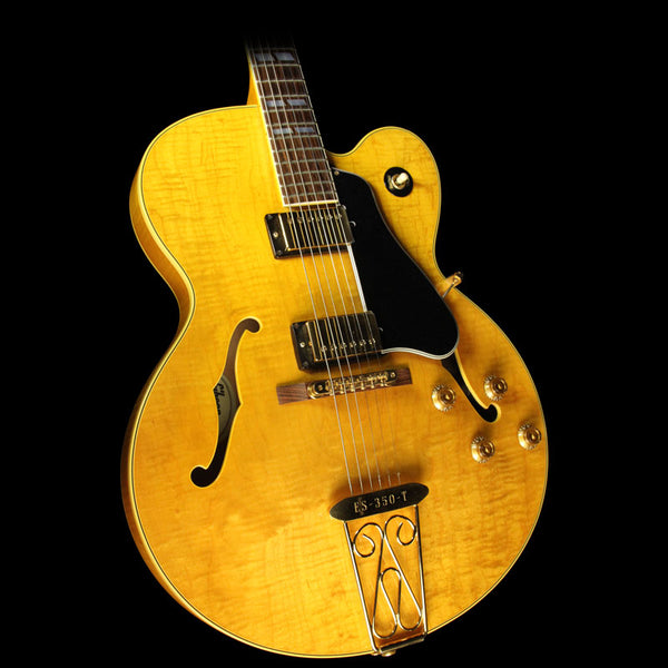 used 1992 gibson es 350t archtop electric guitar natural the music zoo. Black Bedroom Furniture Sets. Home Design Ideas
