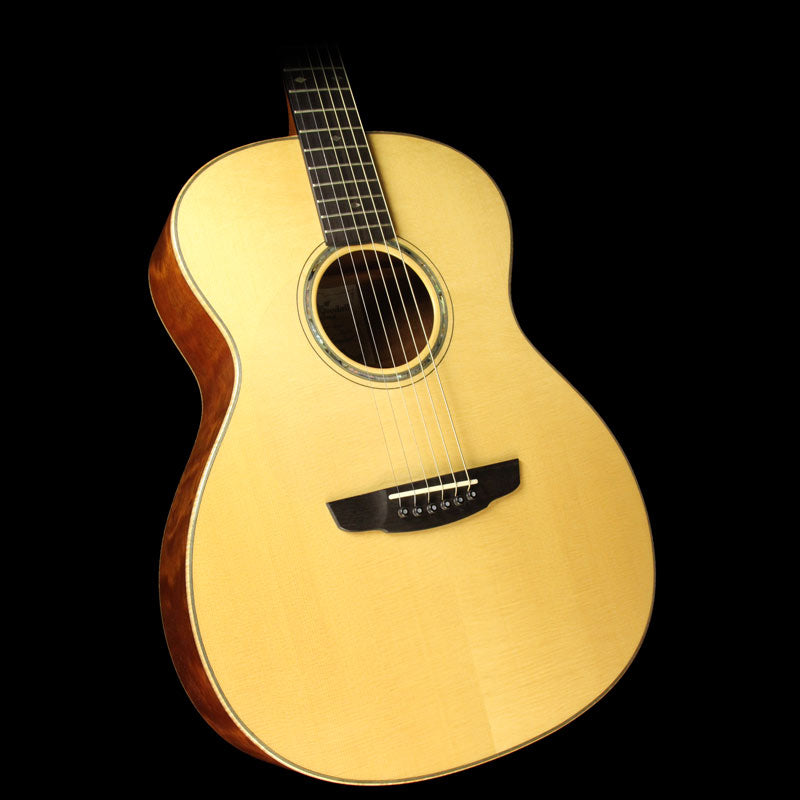 Used Goodall Grand Concert Model Left-Handed Acoustic Guitar Natural QMHGCL2007