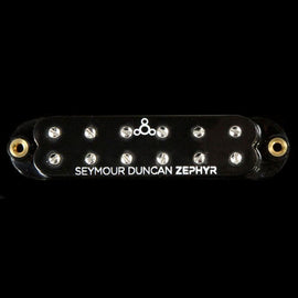 Seymour Duncan Zephyr Silver Single-Coil Sized Humbucker Guitar Neck Pickup Wide-Spacing