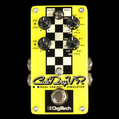 Digitech CabDryVR Dual Cabinet Simulator Effect Pedal