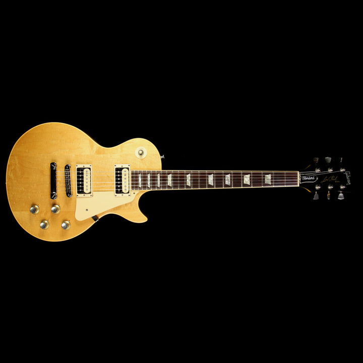 Used 1980 Gibson Les Paul Standard Electric Guitar Natural 80090577