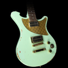 Wild Custom Guitars Wildone Electric Guitar Surf Green P-90