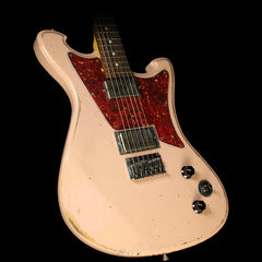 Wild Custom Guitars Wildmaster Electric Guitar Relic Shell Pink