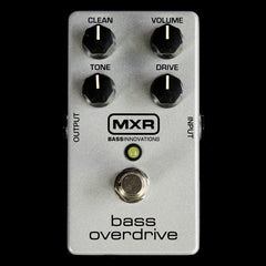 MXR Bass Overdrive Effects Pedal