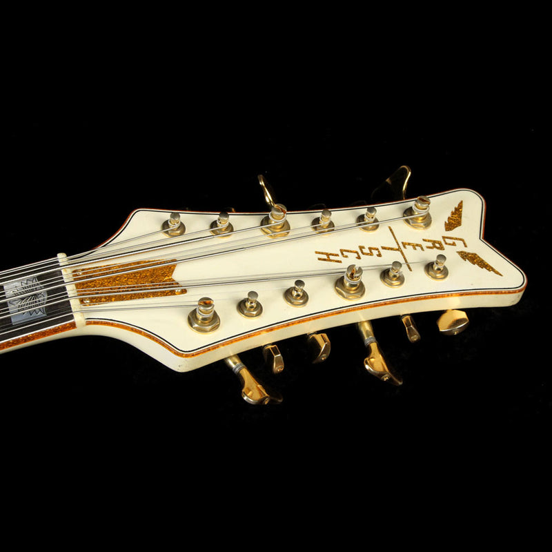 Used Gretsch Custom Shop Tom Petersson Signature White Falcon Relic 12-String Electric Bass UC16121484