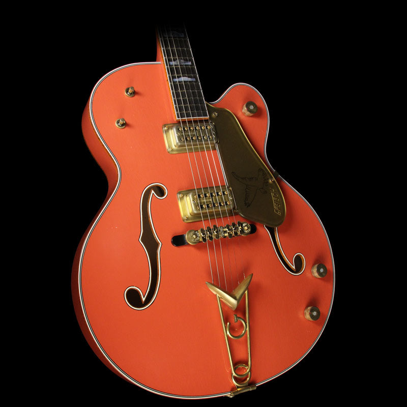 Gretsch Custom Shop 1958 G6136TCS Falcon Relic Electric Guitar Tahiti Coral UC17061526