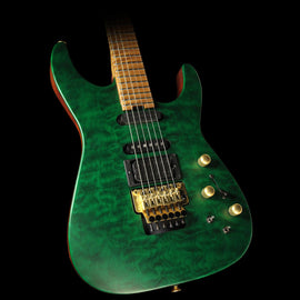 Jackson USA PC1 Matte Phil Collen Electric Guitar Trans Green